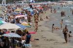 La Comunitat Valenciana recibe hasta junio un 19,2 por ciento más de turistas internacionales.
