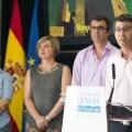 La Diputación y Unipublic presentan la etapa Requena-Gandía de la Vuelta Ciclista a España (Foto-Abulaila).