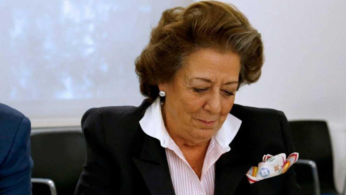 La Fiscalía pide al Supremo que abra causa a Rita Barberá por supuesto blanqueo