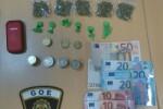 La Policía Local de Valencia detiene a un hombre por un presunto delito de tráfico de drogas.