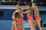 La  gimnasia rítmica española a un paso de los Juegos de Río.