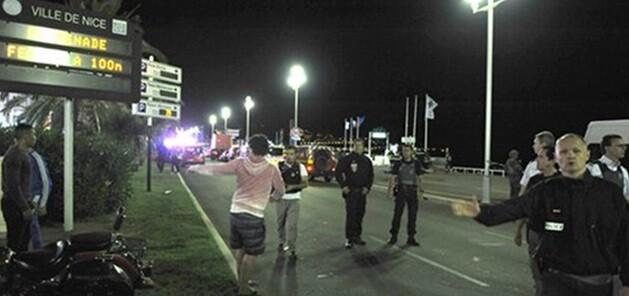 Las autoridades francesas confirmaron que se trata de un ataque terrorista. (Imagen de la Tv francesa).