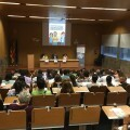 Les Corts colaboran en el seminario de ayuda a personas en riesgo de exclusión.