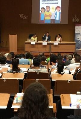 Les Corts han participado como institución colaboradora en el encuentro.