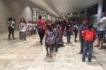 Llegan a la Comunidad Valenciana 134 niños saharauis que pasarán el verano junto a familias acogedoras.