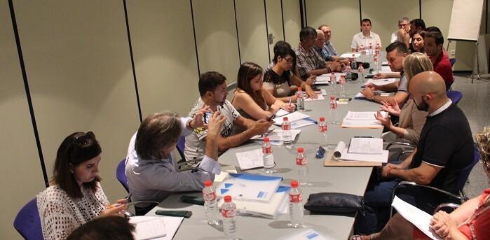 Los diputados presentaron la memoria anual del grupo en La Beneficencia.