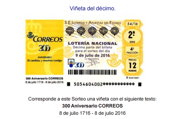 Lotería Nacional Sorteo 54, sábado 9 de julio de 2016 SORTEO ESPECIAL DE JULIO resultados