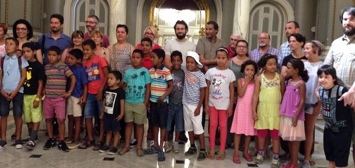 Más de 150 niños y niñas saharauis pasarán el verano en la Comunidad Valenciana.