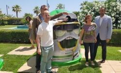 Más de 2.700 bares y restaurantes y 26 municipios valencianos se unen al plan integral para promover el reciclaje de vidrio en verano 20160705_123647 (18)
