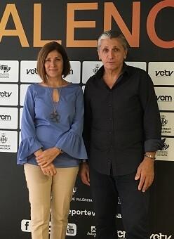 Maite Girau y Juan Pedro Rodríguez.