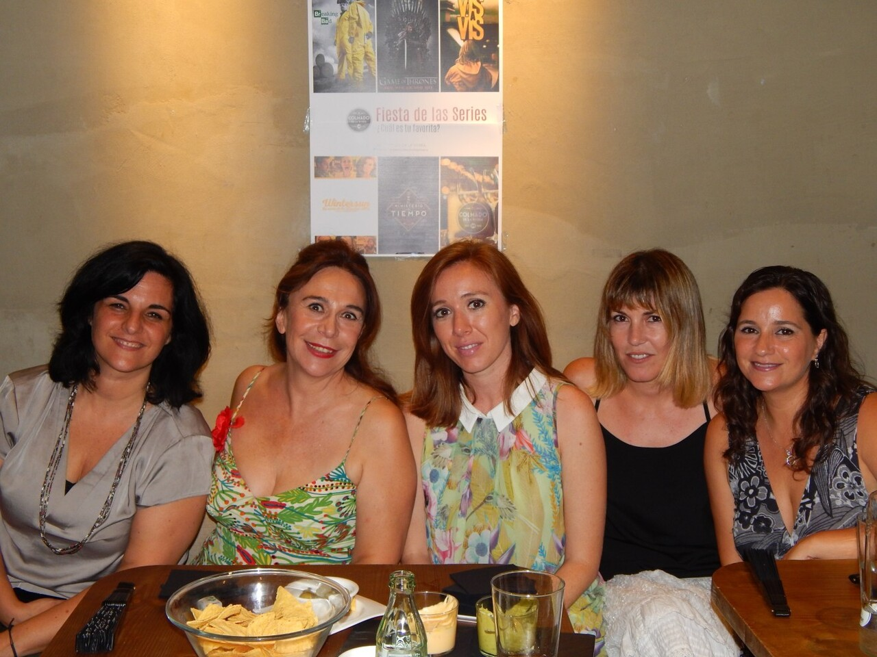 Marian Marín, Lola Moltó,Maria Albiñana, Ana Ramón, Carmen Juan –