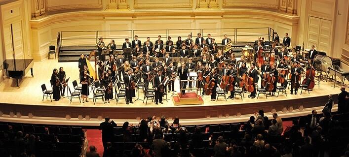 Metropolitan Youth Orchestra de Nueva York.