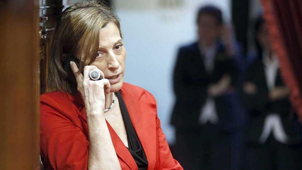 Moncloa pide al alto tribunal anular la resolución y apercibir a los responsables contra Forcadell por el desafío independentista