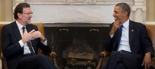 Rajoy y Obama en una foto de archivo.