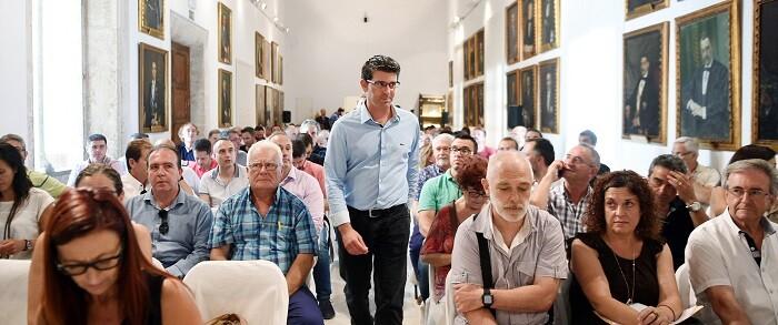 Reunión con los alcaldes (Foto-Abulaila).