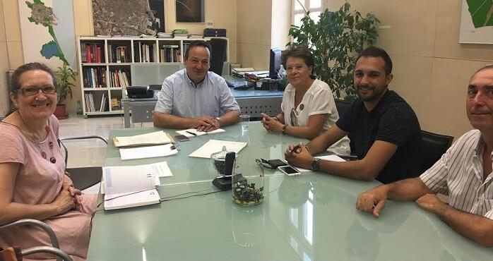Reunión sobre las obras de Castellar Oliveral.