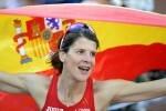Ruth Beitia hace historia en el atletismo europeo con su tercer oro en altura consecutivo.