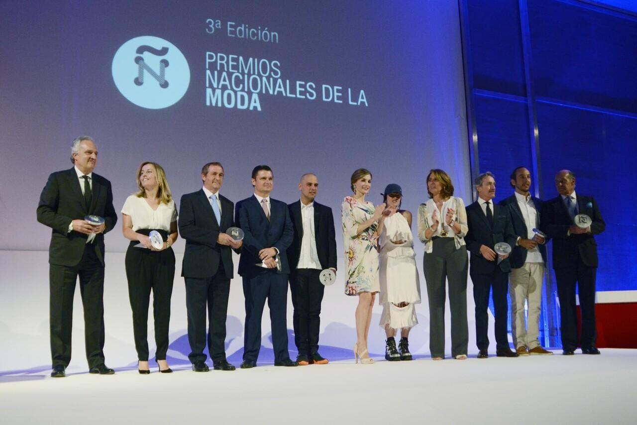 S.M. la Reina entrega los Premios Nacionales de la Moda (1)