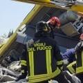 Un choque de trenes en Italia provoca al menos 12 muertos.
