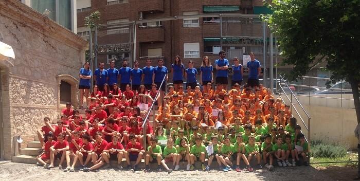 Un grupo importante de alumnos lo forman los becados por la propia Concejalía de Deportes.