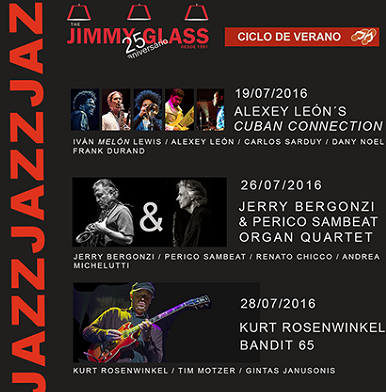 VIII Ciclo Jazz Verano del Jimmy Glass