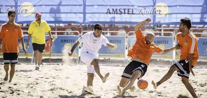 XXIII Ciudad de Valencia de fútbol playa, trofeo impulsor de esta modalidad deportiva.