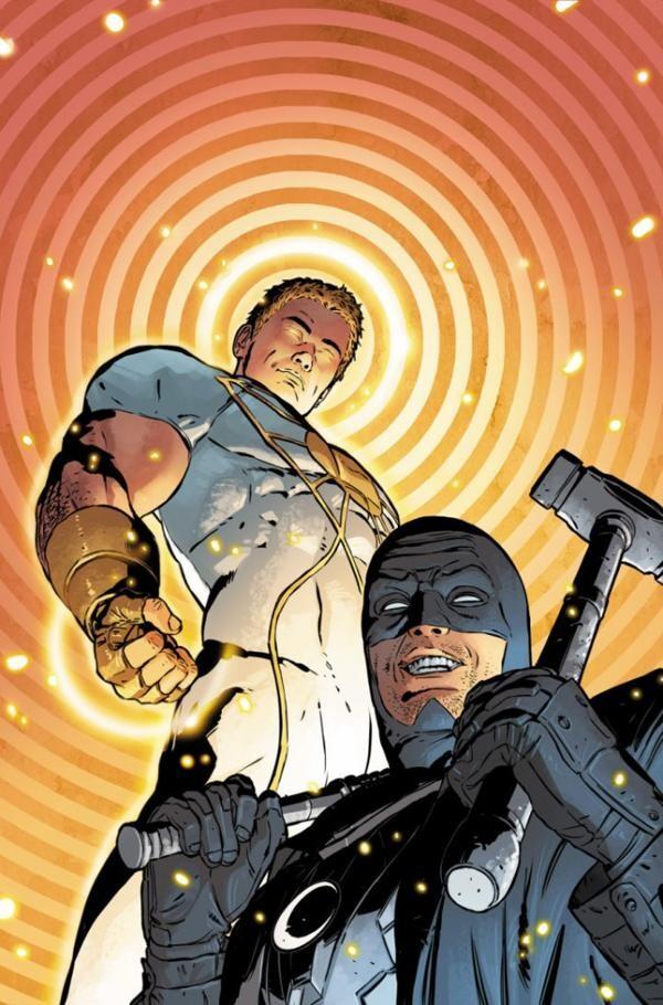 La portada de Midnighter & Apollo No. 1, que saldrá a la venta en octubre (DC Comics)