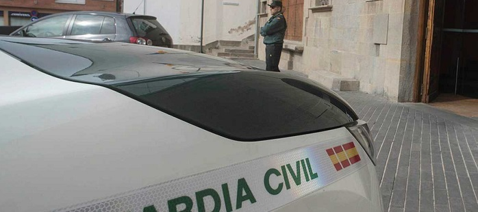 la Guardia Civil prevé efectuar unos 48 registros.