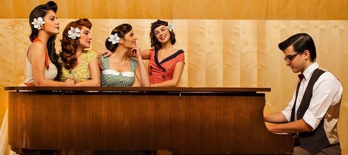 las Dómisol Sisters traslada al público a la época dorada del swing.