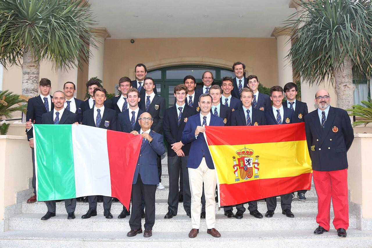 082916 Torneo de Golf Match España Italia Sub 18 Masculino 2