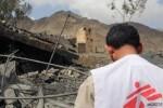 11 muertos y 19 heridos al bombardear un hospital Médicos sin Fronteras en Yemen.