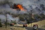 80.000 personas son evacuadas por un gigantesco incendio en California.