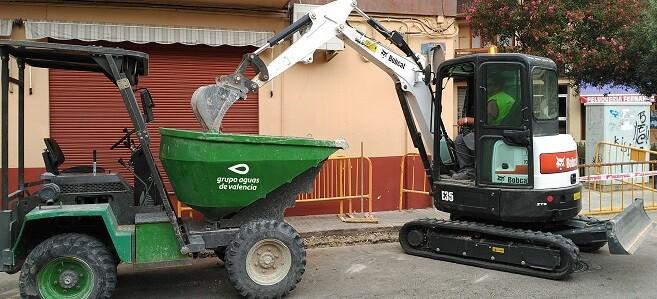 Aguas de Valencia garantiza el Servicio de Agua Potable en Godella desde 1913 y el de Alcantarillado desde 2008.