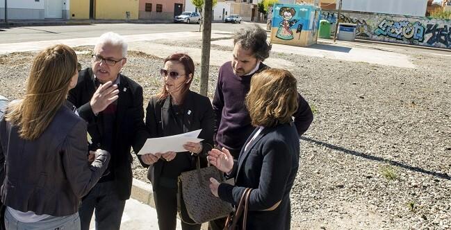 Amigó visita las obras en Puçol (Foto-Abulaila).