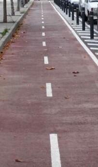Carril bici. (Imagen de archivo).