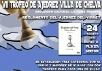 Cartel Torneo de Chelva de Ajedrez del Virrey