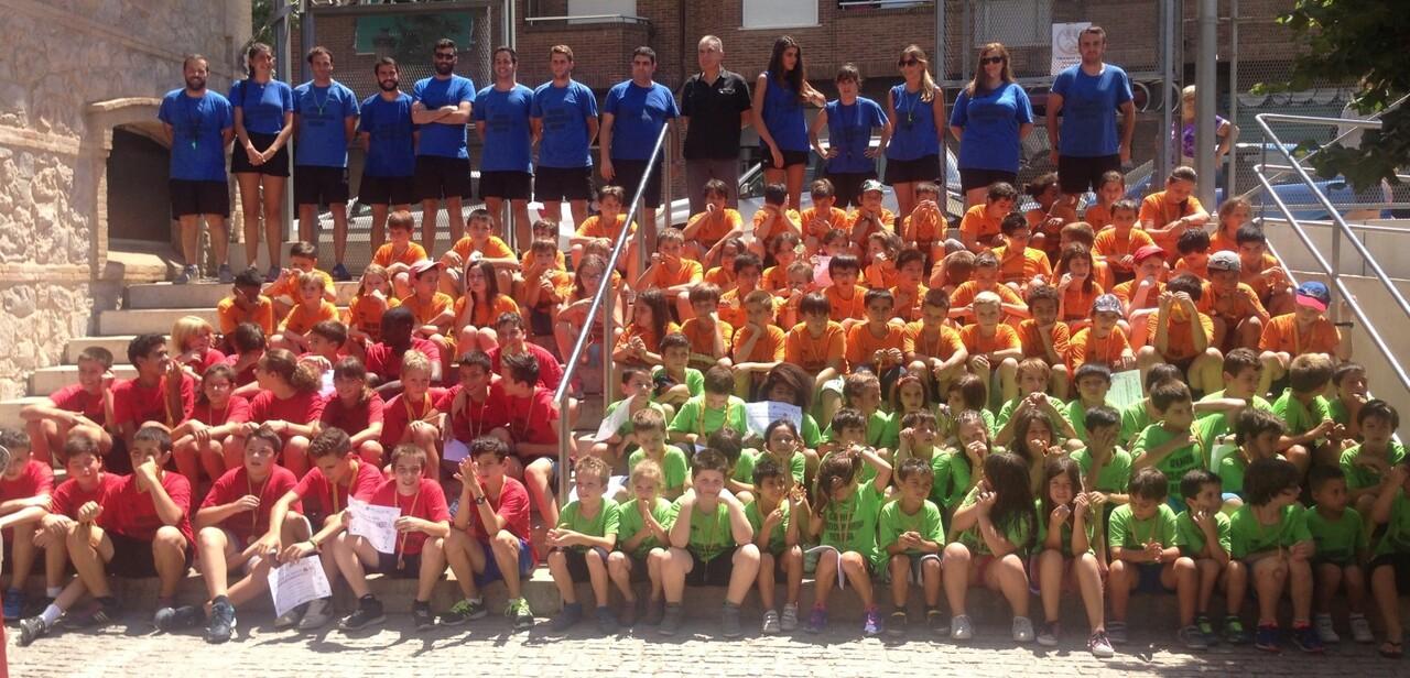 Concluye el campus multideportivo de la Petxina 2016 (1)