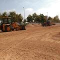El Ayuntamiento acondiciona con sorra reciclada siete solares municipales en el distrito de Rascanya.