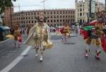 El Estado Plurinacional de Bolivia celebra su 191 aniversario con un acto cívico en el centro de Valencia.