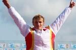 El español Marcus Cooper Walz gana el oro en el K1 1000.