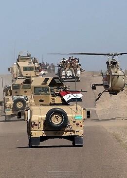 El objetivo de esta operación es tomar Gwer, una localidad 40 kilómetros al sureste de Mosul.