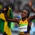 Elaine Thompson es la nueva mujer más rápida del mundo al imponerse en los 100 metros.