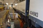FGV concluye las obras de prolongación de la vía torno en el taller de València Sud.