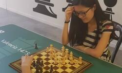 Hou Yifan campeona mundial de ajedrez en la presentación del Festival Internacional de Ajedrez 'Valencia Cuna'20160804_101707 (111)