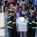 Italia celebró el primer funeral por las víctimas del terremoto.
