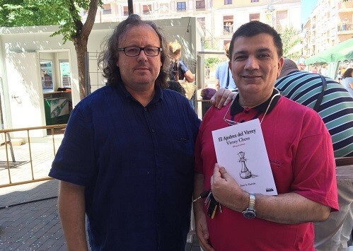 José A. Garzón y el MF Carlos Carbonell.
