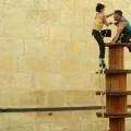 La compañía Maintomano llena de humor y acrobacias el Off Romà de Sagunt a Escena.