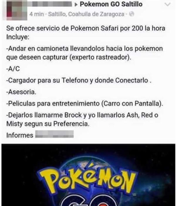 Los cinco empleos más novedosos que surgieron a raíz de Pokémon Go (3)