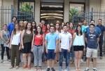 Los jóvenes becarios de la DiputeBeca colaboran en un programa de igualdad de género de la Diputación.