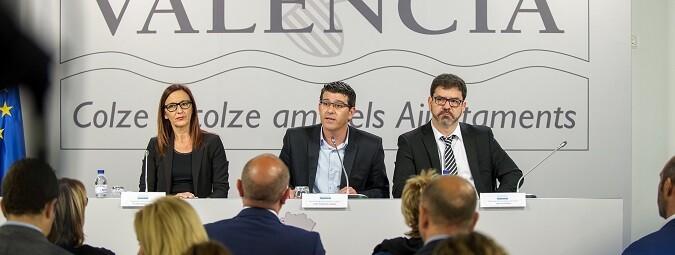 Rueda de prensa del Plan Provincial de Obras y Servicios. (Foto-Abulaila).